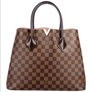 Louis Vuitton Kensington Brown and tan Damier Tote